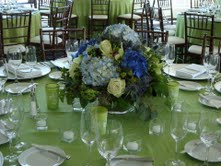 Blue and green in Hilliard, Ohio, Hilliard Floral Design
