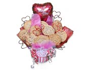 I Love You Cookie Bouquet in Nationwide MI, Wesley Berry Florist, Inc.