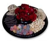 Cookies and Treats Centerpeice in Nationwide MI, Wesley Berry Florist, Inc.