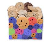 Smiley Face Cookie Assortment in Nationwide MI, Wesley Berry Florist, Inc.
