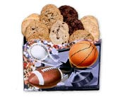 Sports Fanatic Cookie Assortment in Nationwide MI, Wesley Berry Florist, Inc.
