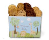 Welcome Baby Cookie Assortment in Nationwide MI, Wesley Berry Florist, Inc.