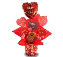 Valentine's Cookie Bouquet in Nationwide MI, Wesley Berry Florist, Inc.