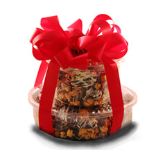 Gourmet Popcorn Gift in Nationwide MI, Wesley Berry Florist, Inc.