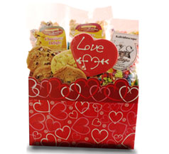 I Love Cookies & Treats Assotment in Nationwide MI, Wesley Berry Florist, Inc.