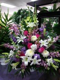 sympathy arrangement in Glendale, Arizona, Arrowhead Flowers