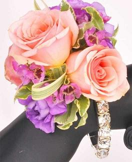 bling corsage in Bothell WA, The Bothell Florist
