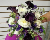 Purple Bouquet in Deltona FL, Deltona Stetson Flowers