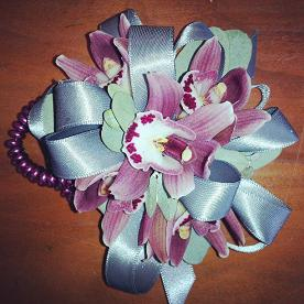 mini cymbid corsage in Bothell WA, The Bothell Florist