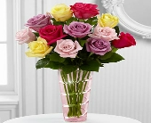 The Mixed Rose Bouquet by FTD� in Knoxville TN, Crouch Florist