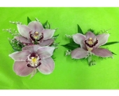 Mauve Cymbidium Boutonni�re in Oakland, California, J. Miller Flowers and Gifts