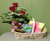 Gift Basket w/ Bud Vase in Colorado City TX, Colorado Floral & Gifts
