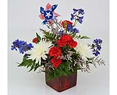 Indianapolis Flowers - Broad Stripes - Gillespie Florists
