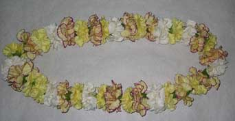 Carnation Lei in Alameda CA, South Shore Florist & Gifts