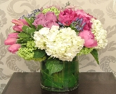 Vase Arrangement Designer's Choice - Modern in Toronto ON, The Flower Nook