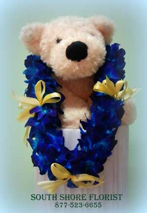 Blue Orchid Lei in Alameda CA, South Shore Florist & Gifts