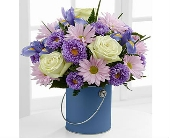 The FTD® Color Your Day With Tranquility™ Bouquet in San Clemente CA, Beach City Florist