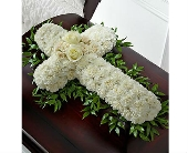 The FTD� Peaceful Memories� Casket Spray in San Clemente CA, Beach City Florist
