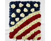 The FTD� Glory Be� Flag Tribute in San Clemente CA, Beach City Florist