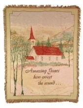 Amazing Grace Tapestry Throw in Pendleton IN, The Flower Cart