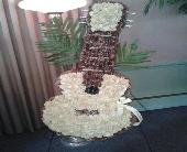 Floral Acoustic Guitar in Bensenville, Illinois, The Village Flower Shop