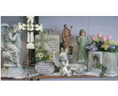 Stones and Angels in St. Joseph, Missouri, Butchart Flowers Inc & Greenhouse