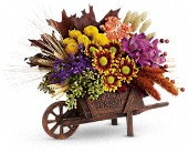 Teleflora's Antique Autumn Bouquet in Edmonton AB, Petals For Less Ltd.