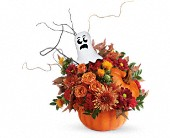 Teleflora's Spooky Surprise Bouquet in Cairo NY, Karen's Flower Shoppe
