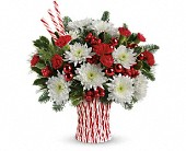 Ft Lauderdale Flowers - Teleflora's Sweet Holiday Wishes Bouquet - Jim Threlkel's Florist