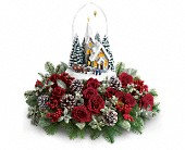 Yonkers Flowers - Thomas Kinkade's Starry Night by Teleflora - Bed Of Roses Florist
