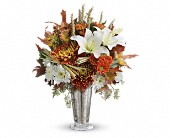 Teleflora's Harvest Splendor Bouquet in St. Clair Shores MI, DeRos Delicacies