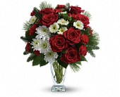 Teleflora's Winter Kisses Bouquet in King of Prussia PA, King Of Prussia Flower Shop