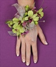 Green Dendrobium Orchid Corsage in Clearwater, Florida, Hassell Florist