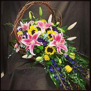 Sympathy Basket in Bothell WA, The Bothell Florist