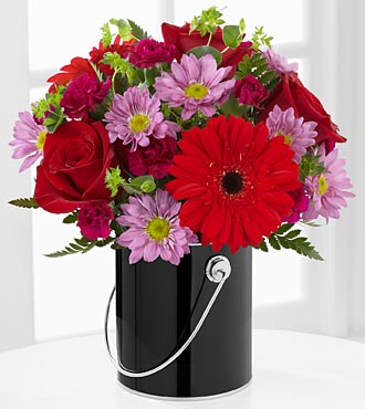The FTD� Color Your Day with Intrigue� Bouque in Highlands Ranch CO, TD Florist Designs