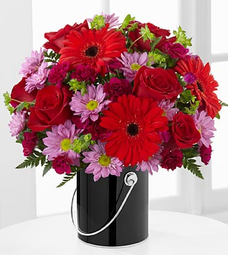 The FTD� Color Your Day with Intrigue� Bouquet in Highlands Ranch CO, TD Florist Designs