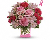 Teleflora's Pink Grace Bouquet in Raleigh NC, Gingerbread House Florist - Raleigh NC