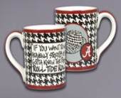 Houndstooth Mug in Tuscaloosa AL, Amy's Florist