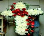 Funeral Cross in Wethersfield, Connecticut, Gordon Bonetti Florist