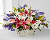 The Wondrous Nature� Bouquet by FTD� - BASKET INCL in Highlands Ranch CO, TD Florist Designs