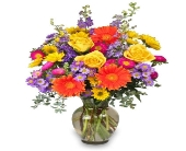 Lawrenceville Flowers - Enjoy the Day Bouquet  - Monday Morning Flower & Balloon Co.