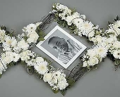 Double Cross Frame in Aston PA, Wise Originals Florists & Gifts