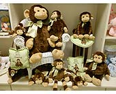 PLUSH MONKEYS in Westerville OH, Reno's Floral