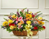 1 800 Flowers-Bright Flowers in a Basket in Woodbridge VA, Lake Ridge Florist