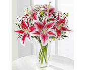 The Pink Lily Bouquet by FTD� in Lawrence KS, Englewood Florist