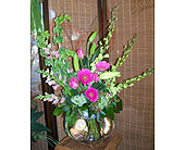 Lush garden in Melbourne FL, Paradise Beach Florist & Gifts