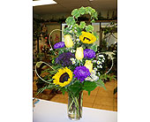 Purple and yellow passion in Melbourne FL, Paradise Beach Florist & Gifts
