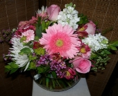 Pink lush in Melbourne FL, Paradise Beach Florist & Gifts