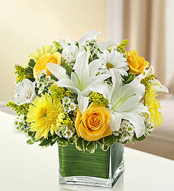 Burien Flowers - Cheerful Thoughts - Ballard Blossom, Inc.