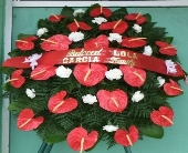 anthurium stand spray in Waipahu, Hawaii, Waipahu Florist